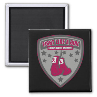 Multiple Myeloma Wear Fight Like A Girl Patch Fridge Magnets