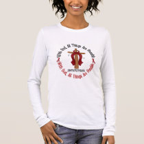 Multiple Myeloma WITH GOD CROSS 1 Long Sleeve T-Shirt