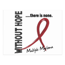 Multiple Myeloma Without Hope 1 Postcard