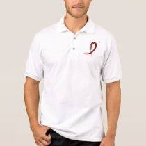 Multiple Myeloma's Burgundy Ribbon A4 Polo Shirt