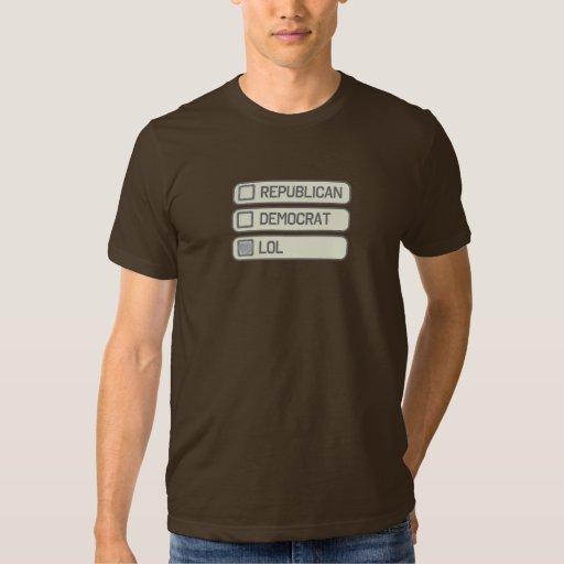 Multiple Partisan Choice Shirt