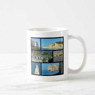 Multiple photos Etretat Coffee Mug