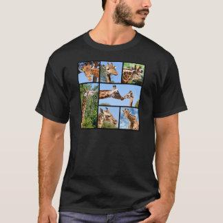 Multiple photos of giraffes T-Shirt