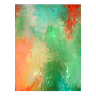 Multiple products - colorfull Abstract Postcard