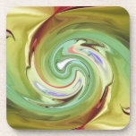 MULTIPLE PRODUCTS DESIGN-Untitled abstract Beverage Coaster
