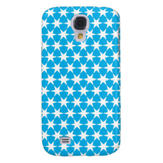 Multiple products light blue bacground white stars HTC vivid / raider 4G cover