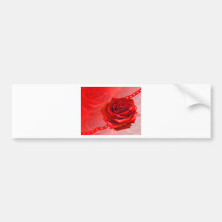 Multiple products with a beautiful red rose bumper stickers