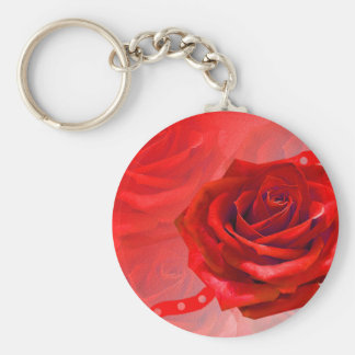 Multiple products with a beautiful red rose keychain