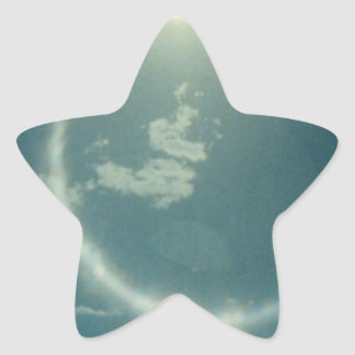 Multiple products  with moon photo star sticker