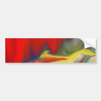 Multiple prosucts- colorfull Abstrac design 100 Bumper Sticker