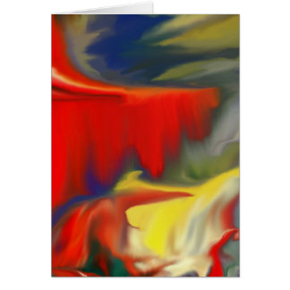 Multiple prosucts- colorfull Abstrac design 100 Greeting Card