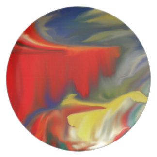 Multiple prosucts- colorfull Abstrac design 100 Dinner Plate