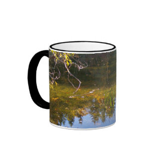 Multiple Reflections Ringer Coffee Mug