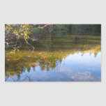 Multiple Reflections Rectangular Stickers