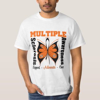 Multiple Sclerosis Awareness Butterfly T-shirt