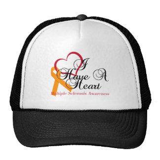 Multiple Sclerosis Awareness I Have A Heart Trucker Hat