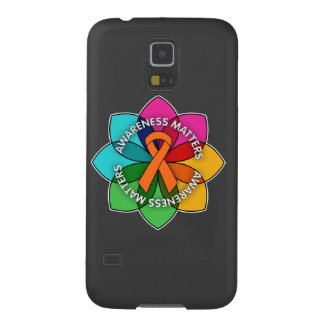 Multiple Sclerosis Awareness Matters Petals Galaxy S5 Cover