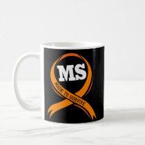 Multiple Sclerosis Awareness Month Survivor Mug
