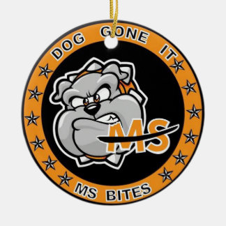 Multiple Sclerosis Awareness Christmas Ornaments