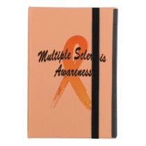 Multiple Sclerosis Awareness Ribbon of Hope iPad Mini 4 Case