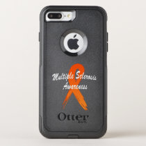 Multiple Sclerosis Awareness Ribbon of Hope OtterBox Commuter iPhone 8 Plus/7 Plus Case