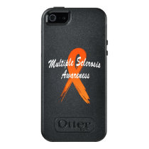 Multiple Sclerosis Awareness Ribbon of Hope OtterBox iPhone 5/5s/SE Case