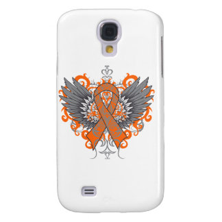 Multiple Sclerosis Awareness Wings Samsung Galaxy S4 Case