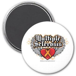 Multiple Sclerosis Biker Magnets