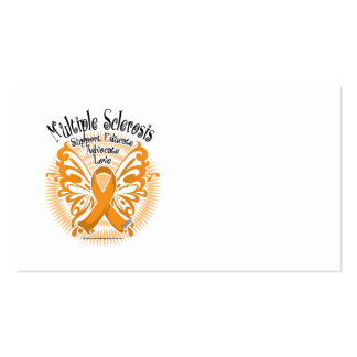 Multiple Sclerosis Butterfly 3 Business Card