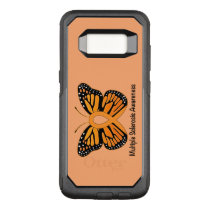 Multiple Sclerosis Butterfly Awareness Ribbon OtterBox Commuter Samsung Galaxy S8 Case
