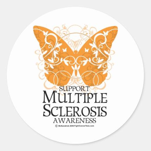 Multiple Sclerosis Butterfly Sticker
