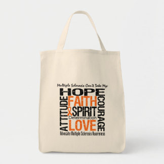 Multiple Sclerosis Can t Take My Hope Canvas Bags