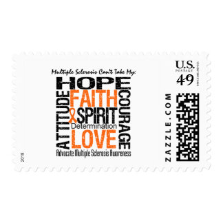 Multiple Sclerosis Can't Take My Hope Postage Stamps