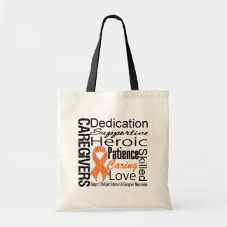 Multiple Sclerosis Caregivers Collage Bag
