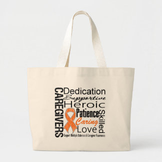 Multiple Sclerosis Caregivers Collage Bags