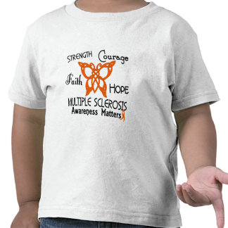 Multiple Sclerosis Celtic Butterfly 3 T-shirts