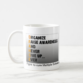 Multiple Sclerosis Cup Classic White Coffee Mug