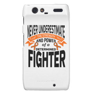 Multiple Sclerosis Determined Fighter Droid RAZR Cases