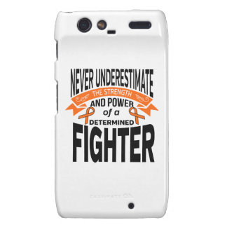 Multiple Sclerosis Determined Fighter Motorola Droid RAZR Covers