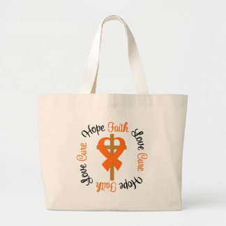Multiple Sclerosis Faith Hope Love Cross Bag