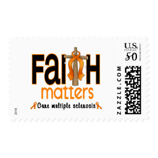 Multiple Sclerosis Faith Matters Cross 1 Postage