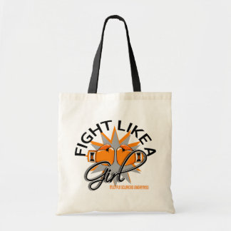 Multiple Sclerosis Fight Like A Girl 12.3 Tote Bag