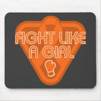 Multiple Sclerosis Fight Like A Girl Glove Mouse Pad