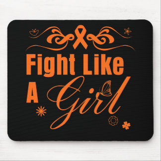 Multiple Sclerosis Fight Like A Girl Ornate Mouse Pad