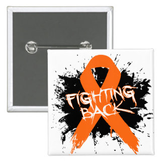 Multiple Sclerosis - Fighting Back Pinback Button
