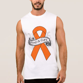 Multiple Sclerosis Find A Cure Ribbon Sleeveless Tee