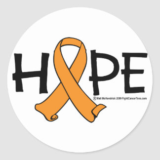 Multiple Sclerosis HOPE 2 Classic Round Sticker