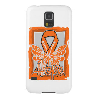 Multiple Sclerosis Hope Butterfly Galaxy S5 Covers
