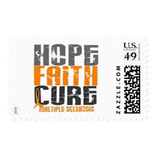 Multiple Sclerosis HOPE FAITH CURE Stamp