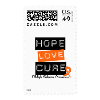 Multiple Sclerosis Hope Love Cure Postage